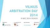 Lietuva kaip tarptautinio arbitražo vieta