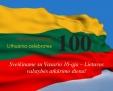 Atkurtai Lietuvai 100 metų!