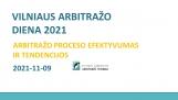 VILNIAUS ARBITRAŽO DIENA 2021